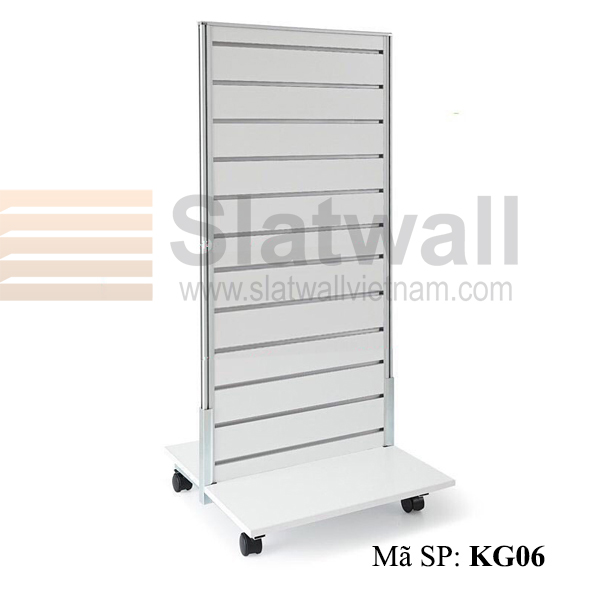 Kệ gỗ Slatwall KG06