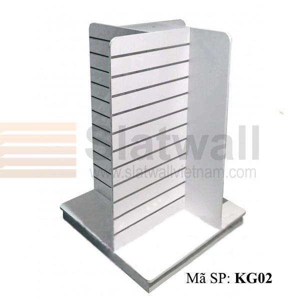 Kệ gỗ Slatwall KG02