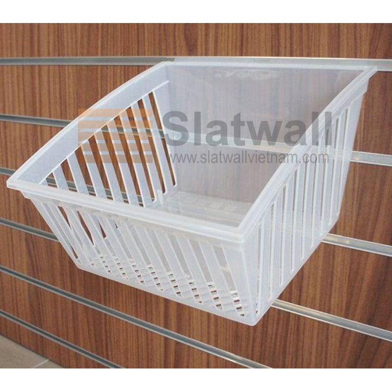 Hộp nhựa PVC cài Slatwall HNG07