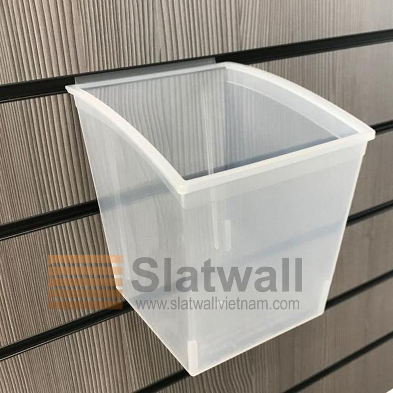 Hộp nhựa PVC cài Slatwall HNG06