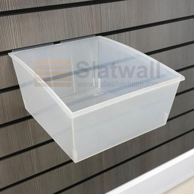 Hộp nhựa PVC cài Slatwall HNG05