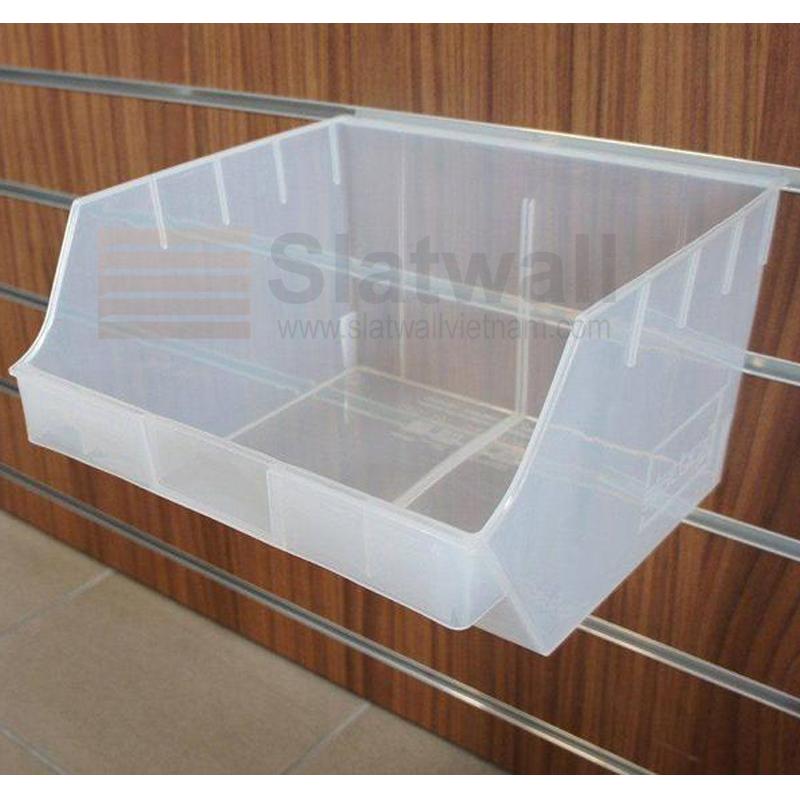 Hộp nhựa PVC cài Slatwall HNG04