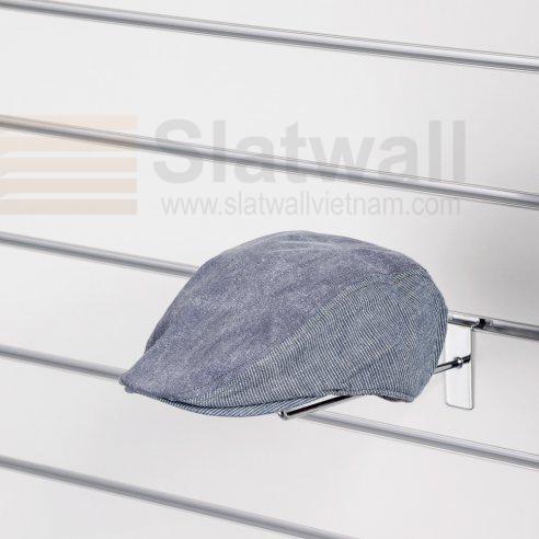 Móc nón cài tấm gỗ Slatwall MNG01