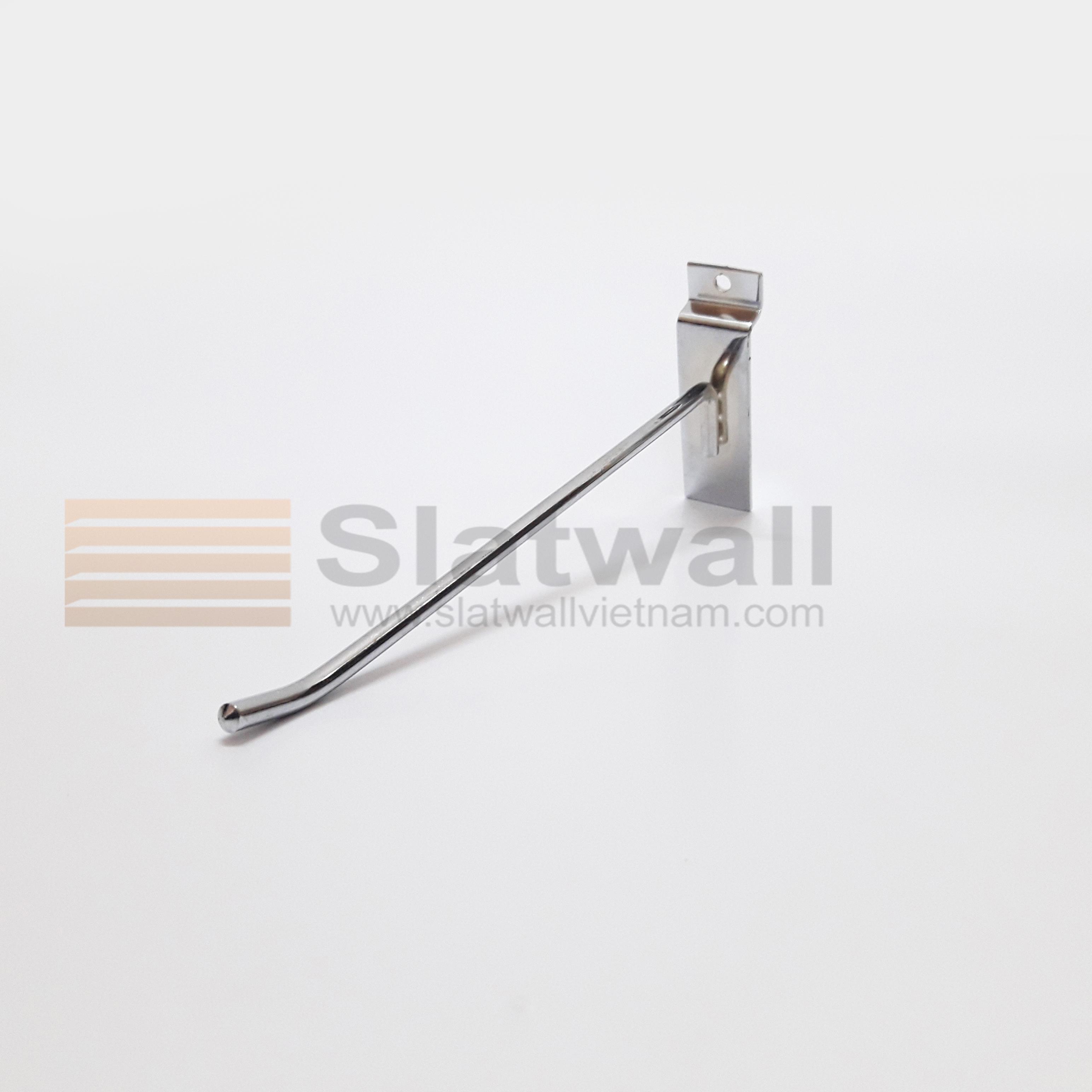 Móc đơn treo phụ kiện cài Slatwall MTG101