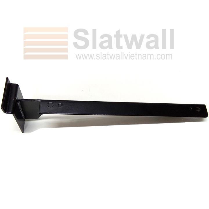 Tay đỡ giá kệ quần áo cài tấm gỗ Slatwall TDG04
