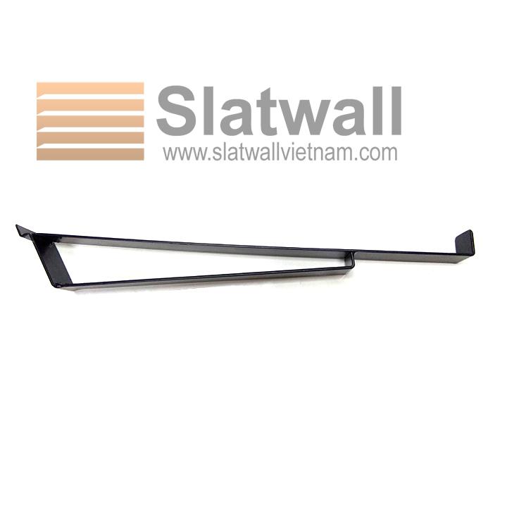 Tay đỡ hàng cài tấm gỗ slatwall TDG06