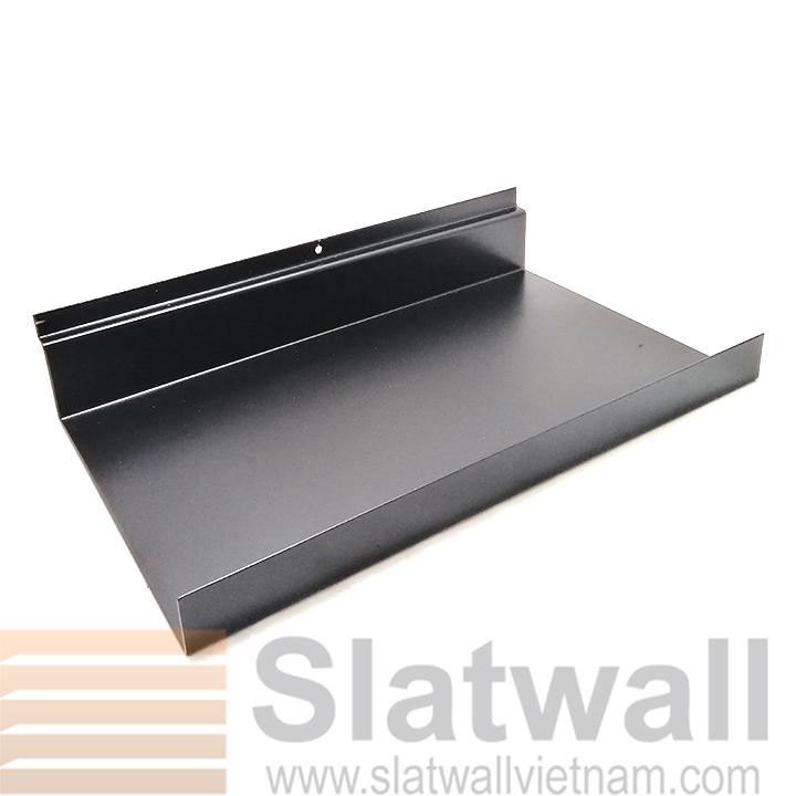 Kệ sắt cài rãnh tấm gỗ slatwall KSG07